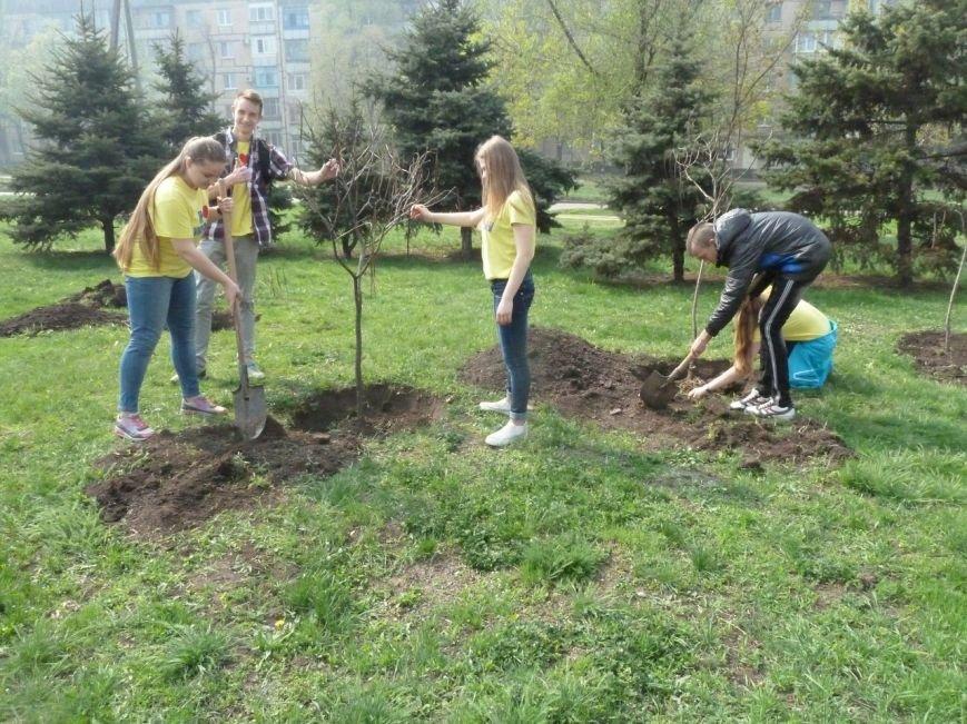 """""""Зеленые легкие Криворожья"""": студенты внесли вклад в сохранение чистой окружающей среды (ФОТО), фото-6"""
