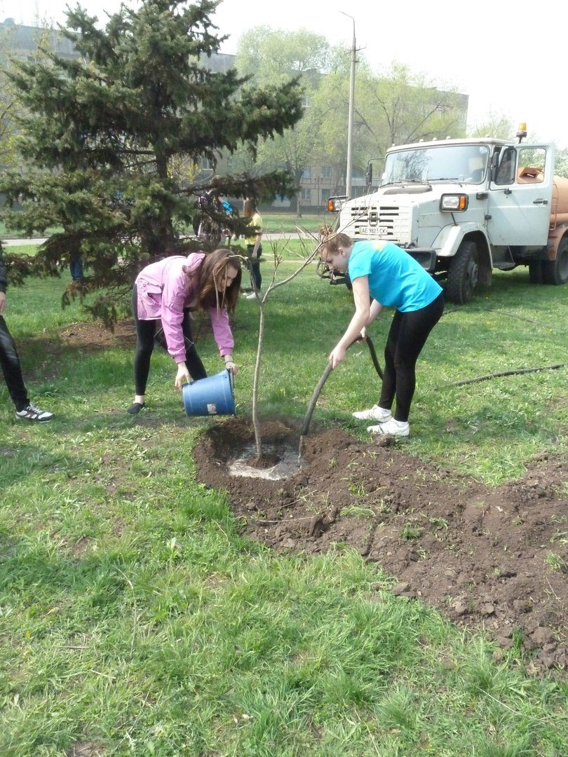 """""""Зеленые легкие Криворожья"""": студенты внесли вклад в сохранение чистой окружающей среды (ФОТО), фото-7"""