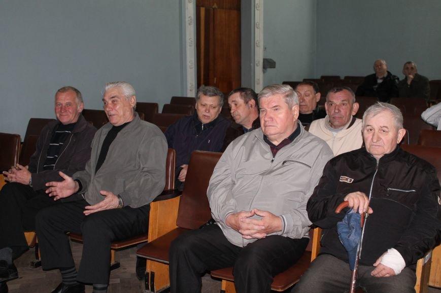 Чернобыльцы Бахмута выступили за объединение, фото-2
