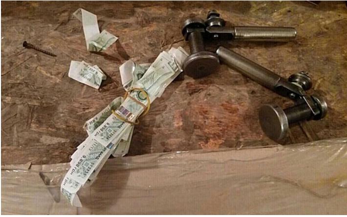 Полиция изъяла на 2,6 миллиона гривен