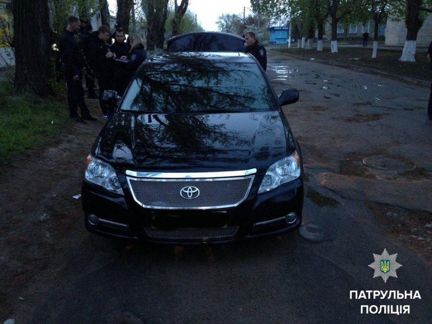 Херсонские патрульные задержали жителя Киевской области, находящегося в розыске (фото) (фото) - фото 1