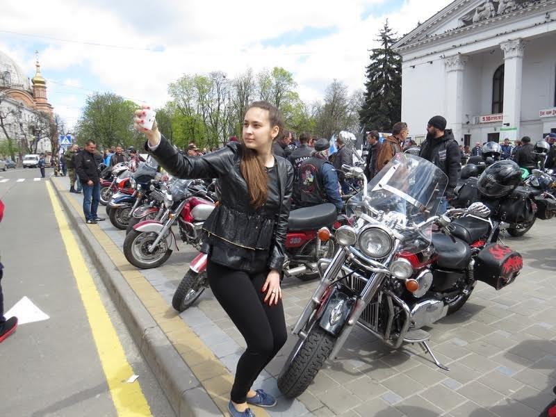 На дорогах Мариуполя появились байкеры (ФОТОРЕПОРТАЖ+ВИДЕО), фото-5