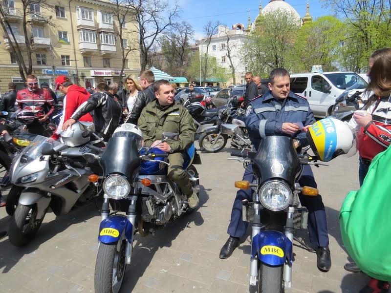 На дорогах Мариуполя появились байкеры (ФОТОРЕПОРТАЖ+ВИДЕО), фото-11