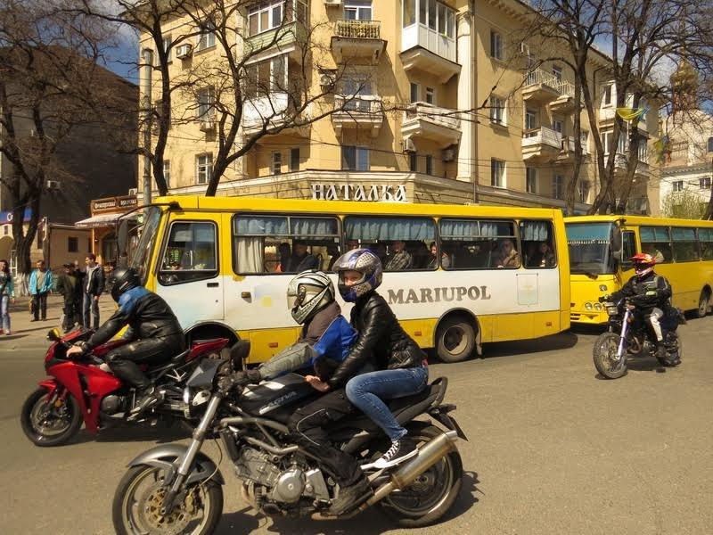 На дорогах Мариуполя появились байкеры (ФОТОРЕПОРТАЖ+ВИДЕО), фото-8