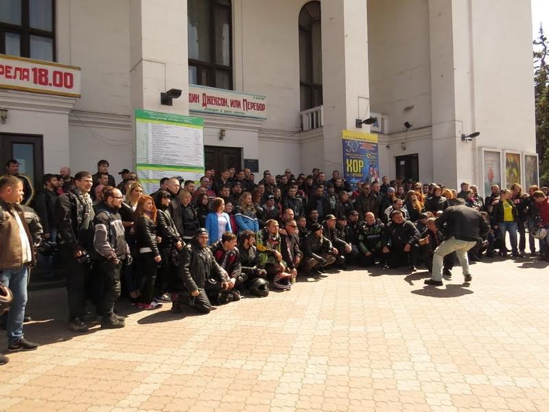 На дорогах Мариуполя появились байкеры (ФОТОРЕПОРТАЖ+ВИДЕО), фото-3
