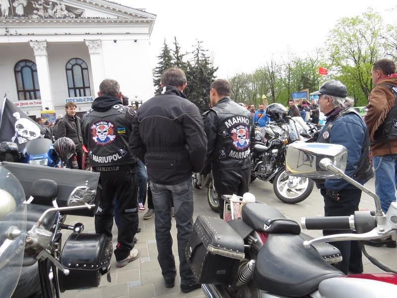 На дорогах Мариуполя появились байкеры (ФОТОРЕПОРТАЖ+ВИДЕО), фото-16