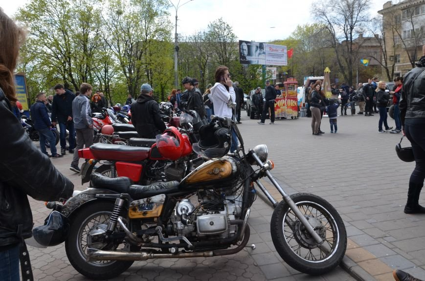 На дорогах Мариуполя появились байкеры (ФОТОРЕПОРТАЖ+ВИДЕО), фото-23