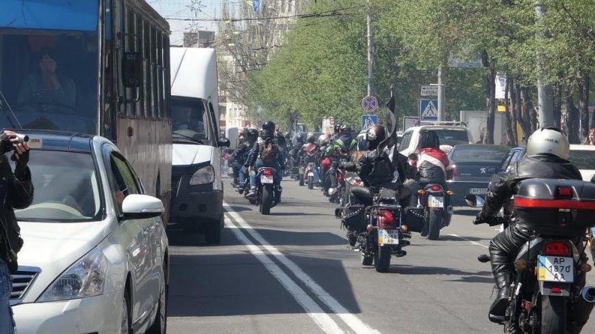 На дорогах Мариуполя появились байкеры (ФОТОРЕПОРТАЖ+ВИДЕО), фото-2
