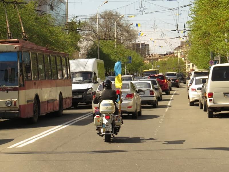 На дорогах Мариуполя появились байкеры (ФОТОРЕПОРТАЖ+ВИДЕО), фото-20
