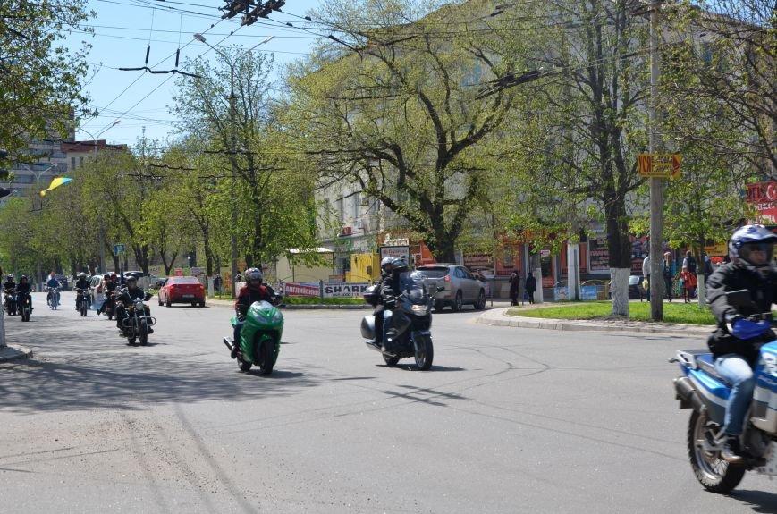 На дорогах Мариуполя появились байкеры (ФОТОРЕПОРТАЖ+ВИДЕО), фото-36