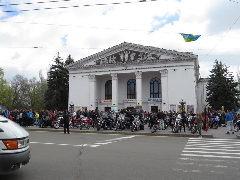 На дорогах Мариуполя появились байкеры (ФОТОРЕПОРТАЖ+ВИДЕО), фото-13