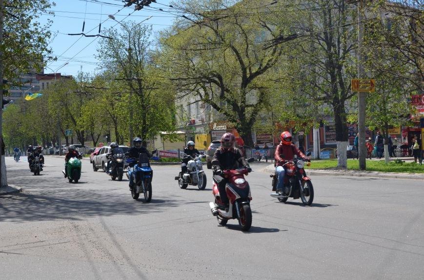 На дорогах Мариуполя появились байкеры (ФОТОРЕПОРТАЖ+ВИДЕО), фото-35