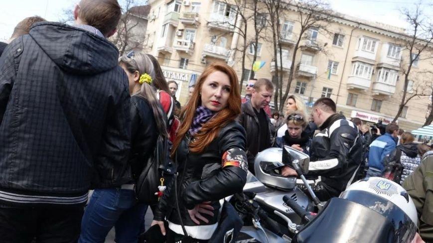 На дорогах Мариуполя появились байкеры (ФОТОРЕПОРТАЖ+ВИДЕО), фото-6