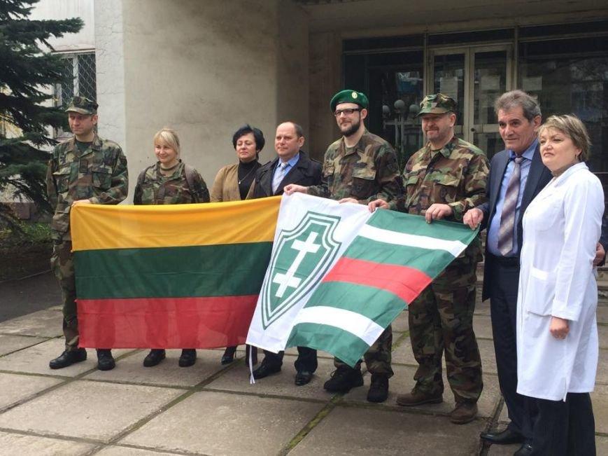 Мариупольская станция переливания крови получила от литовцев  дорогостоящее оборудование (ФОТО), фото-12
