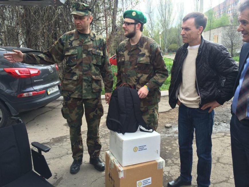 Мариупольская станция переливания крови получила от литовцев  дорогостоящее оборудование (ФОТО), фото-2