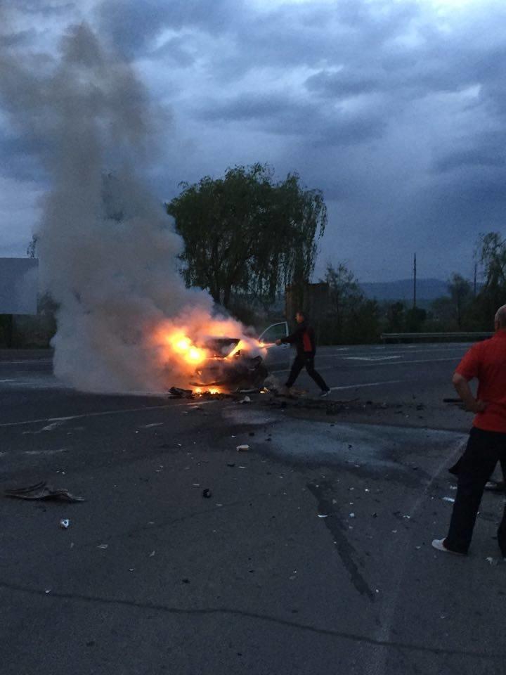 Сьогодні біля Ужгорода сталася ще одна аварія (Фото) (фото) - фото 1