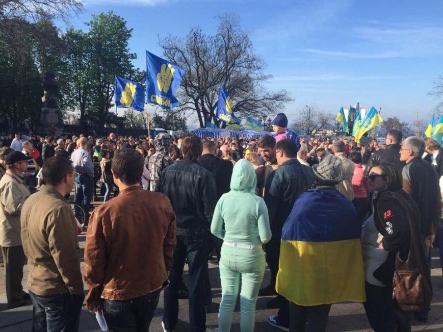0a7eead805eb5f8b1b38a807086d7ac1 Одесский майдан: Море людей, депутаты и бомба