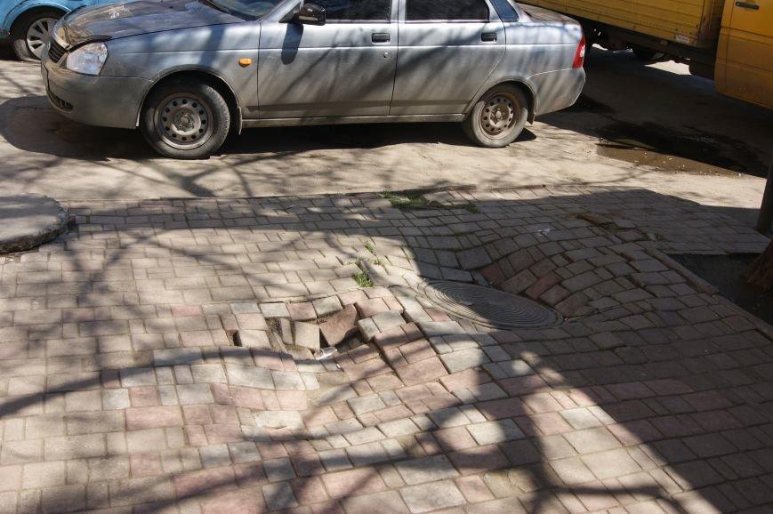 В Одессе появился 3-D тротуар (ФОТОФАКТ) (фото) - фото 1