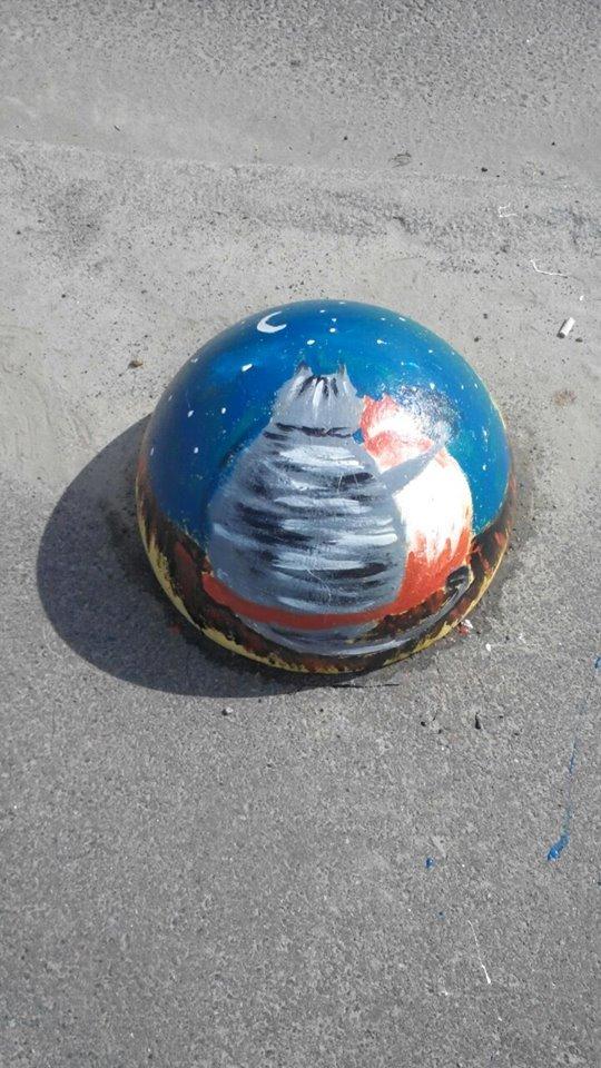 На Осокорках появились креативные полусферы (ФОТО), фото-2
