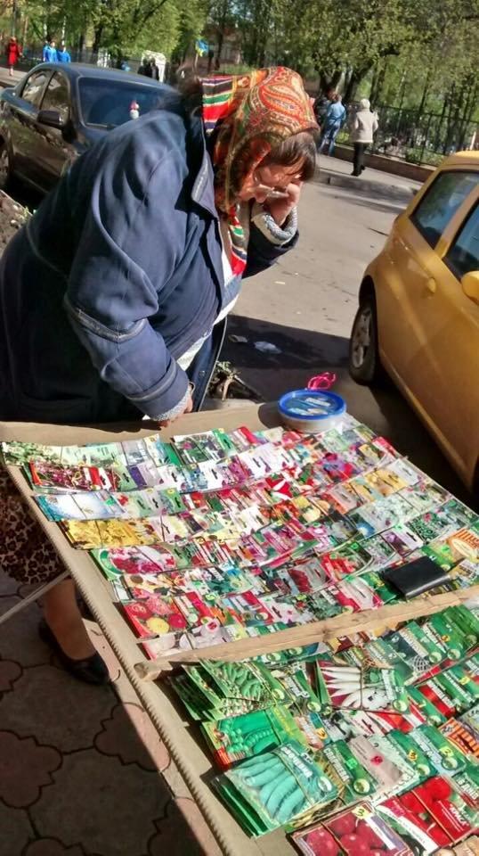 Мойва, семена, искусственные цветы и корзины: что продают в Кривом Роге в местах стихийной торговли (ФОТО), фото-2