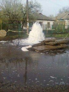 В Первомайске появился новый «фонтан» (фото) (фото) - фото 1
