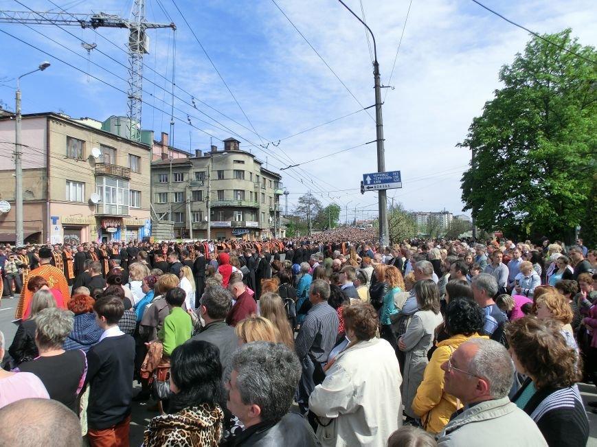 Хресна дорога у Франківську зібрала декілька тисяч вірян (ФОТО) (фото) - фото 1