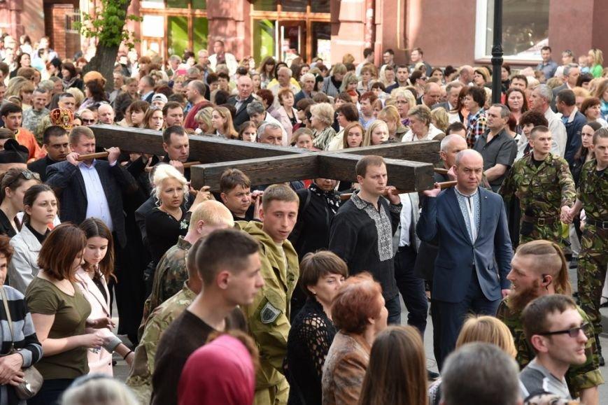 Тернополяни понад три години провели у молитві під час Хресної ходи (ФОТОРЕПОРТАЖ-2), фото-1