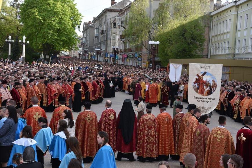 Тернополяни понад три години провели у молитві під час Хресної ходи (ФОТОРЕПОРТАЖ-2), фото-8