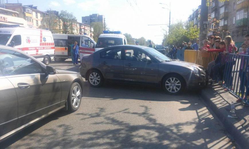 ДТП на Слобожанском проспекте: