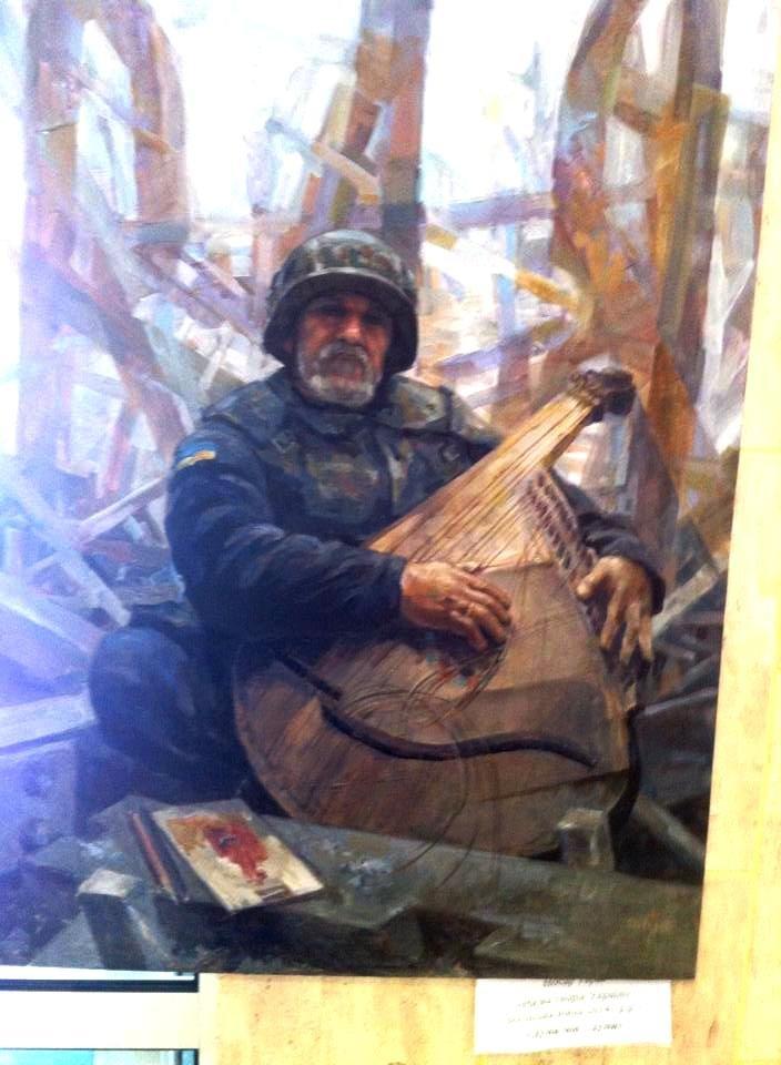 В одной из херсонских церквей проходит выставка картин из зоны АТО (фото) (фото) - фото 2