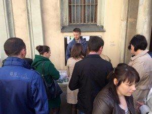 У Відні продавали писанки та вишиті рушнички, які створили тернопільські волонтери (фото) (фото) - фото 1