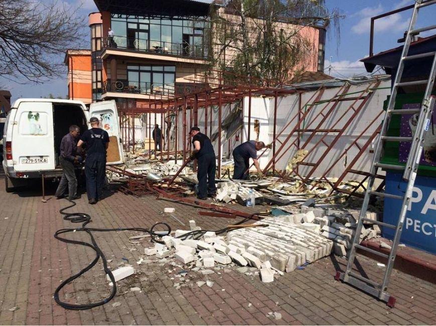В Гидропарке демонтировали незаконные МАФы (ФОТО), фото-5