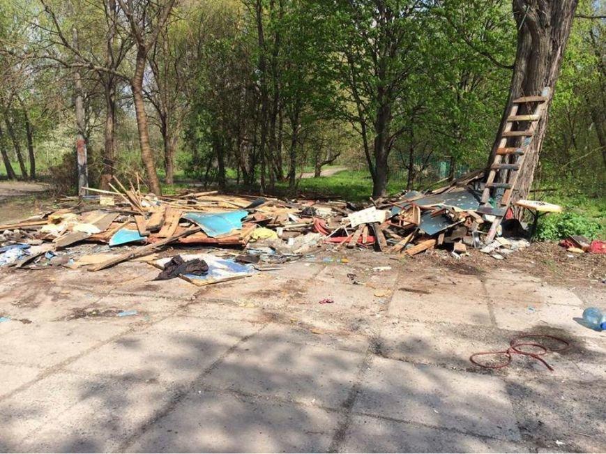 В Гидропарке демонтировали незаконные МАФы (ФОТО), фото-2