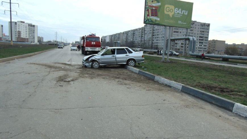 Появилось видео ДТП 13 апреля на Саратовском шоссе в Балаково(ФОТО, ВИДЕО) (фото) - фото 1