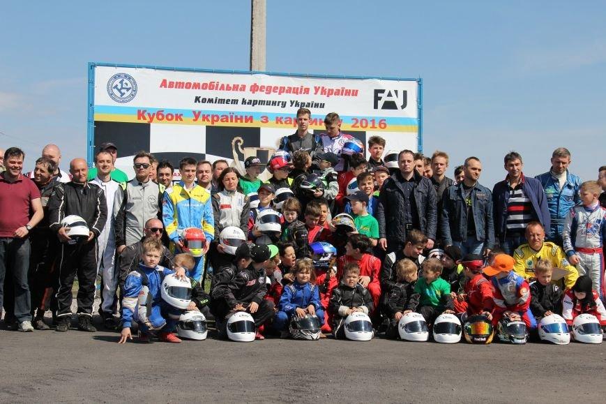 В Днепродзержинске состоялся 1-й этап Кубка Украины по картингу (фото) - фото 4