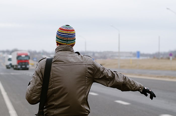 Как новополочане путешествуют автостопом. Как я ловила попутку и Кто такие попутчики (фото) - фото 4