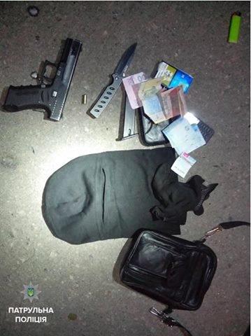 В Кременчуге патрульные задержали напавшего на таксиста вооруженного мужчину, фото-1