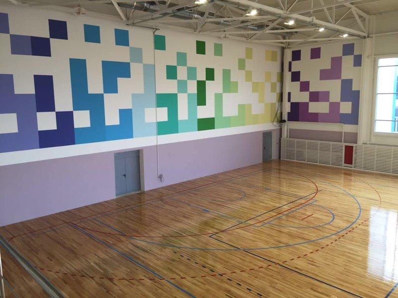 В многофункциональном зале «двойки» будут сразу две волейбольные площадки (фото) - фото 1