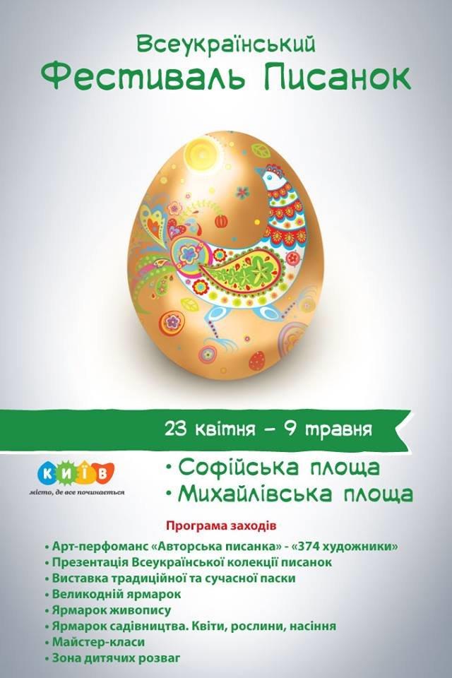 В Киеве откроется пасхальный фестиваль писанок, фото-1