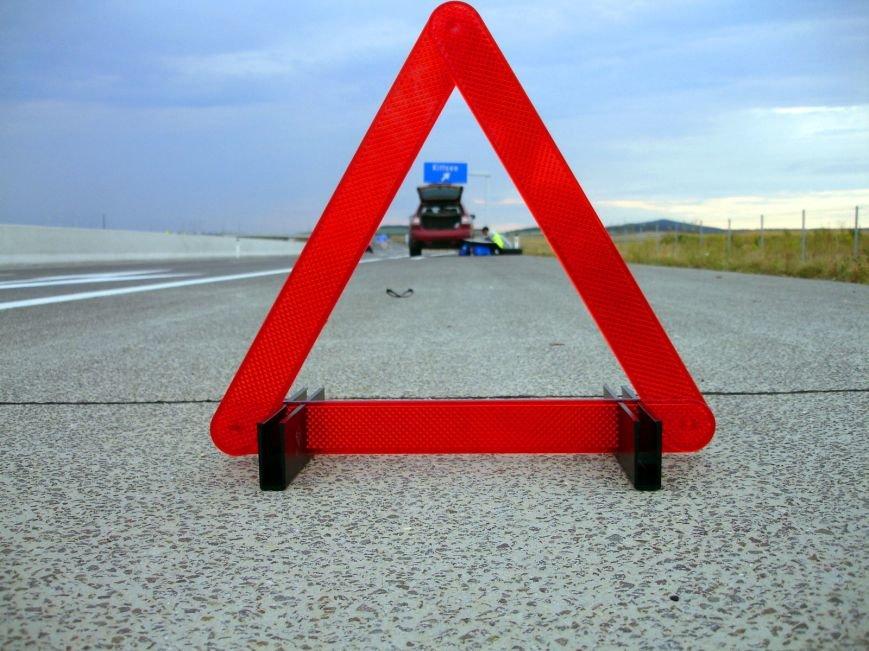 Водитель «Матиза», проскочив на красный сигнал светофора, спровоцировал ДТП (фото) - фото 1