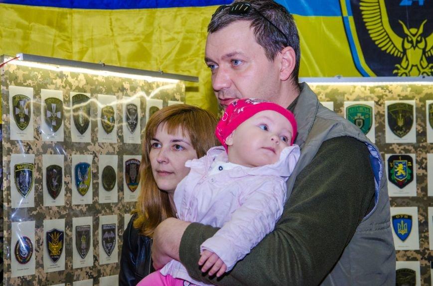 Самую большую в Украине выставку шевронов открыли на Днепропетровщине (ФОТО) (фото) - фото 1