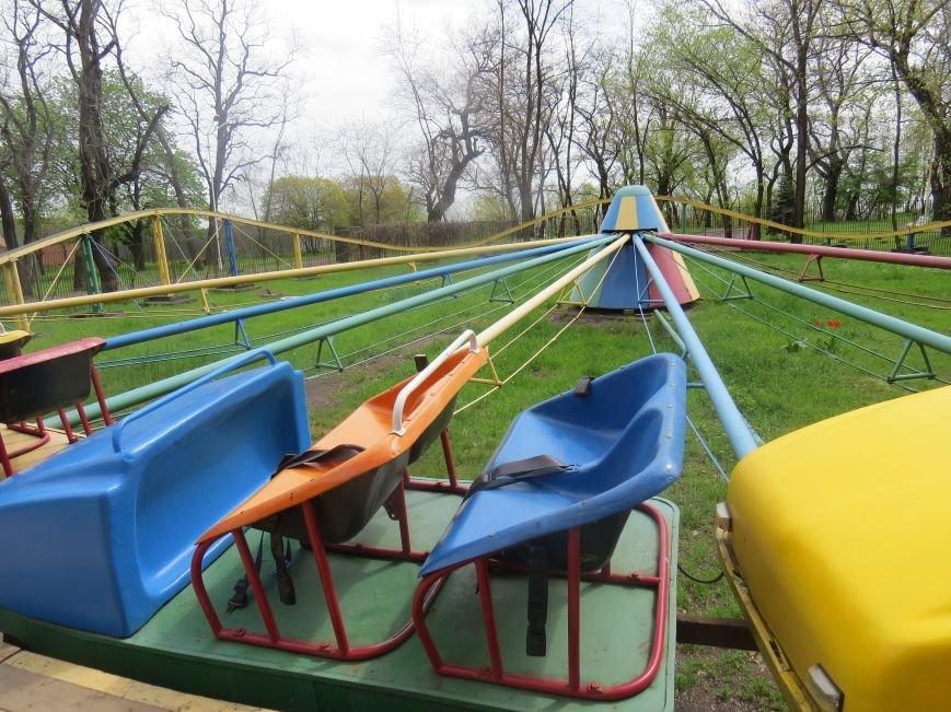 В Мариуполе парки открылись наполовину. Цены на аттракционы взлетели (ФОТОРЕПОРТАЖ), фото-17