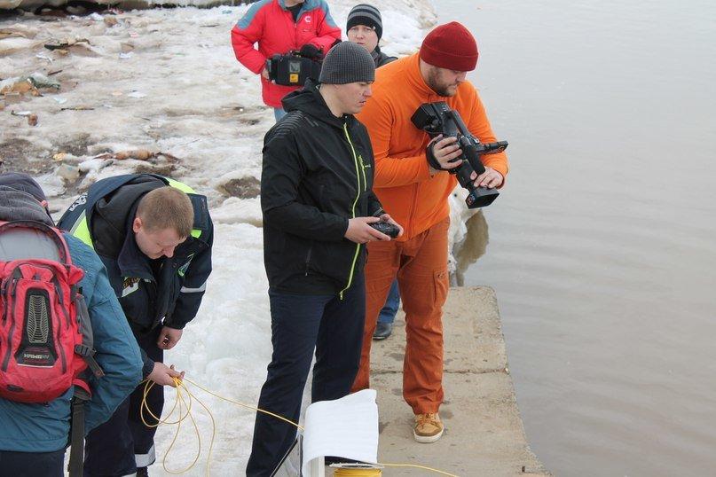 На Оби работал «Гном». У спасателей Нижневартовска появился уникальный телеуправляемый подводный аппарат (фото) - фото 2