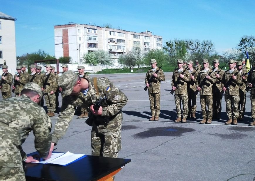 У Житомирі десантники склали присягу на вірність Україні, фото-6