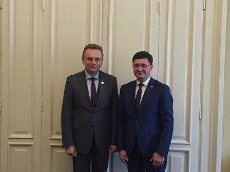 Городской голова Вадим Бойченко во Львове подчеркнул, что Восток и Запад вместе, фото-1