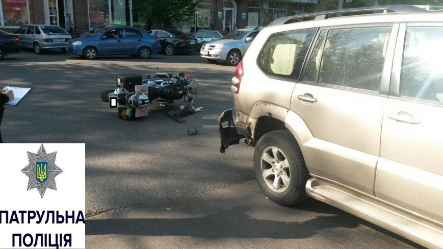 У Черкасах в ДТП постраждав мотоцикліст (ФОТО), фото-2