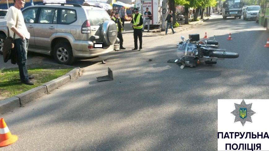 У Черкасах в ДТП постраждав мотоцикліст (ФОТО), фото-1