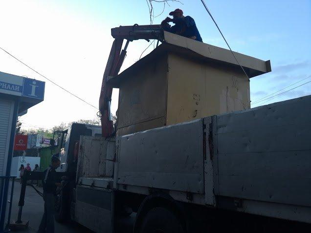 У Тернополі демонтують