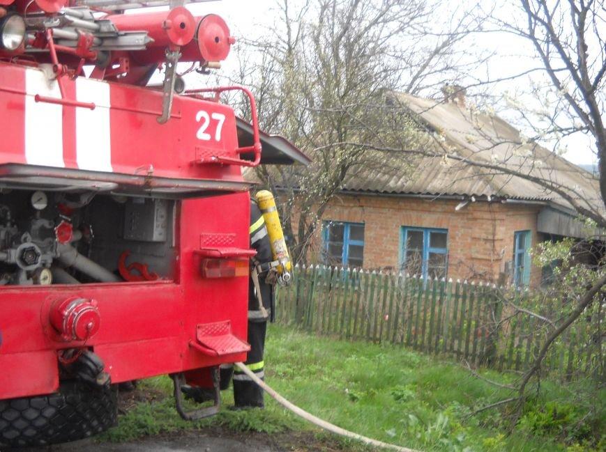Кіровоградська область: під час ліквідації пожежі у будинку рятувальники виявили загиблого господаря (фото) - фото 1