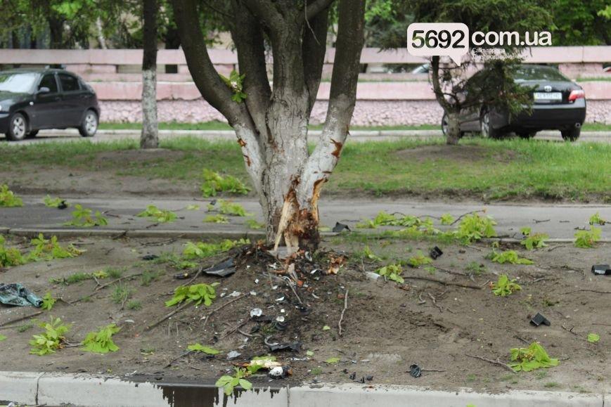 В Днепродзержинске произошло ДТП: водитель Mazda врезался в дерево (фото) - фото 5